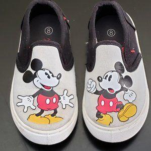 Mickey Mouse Slip on Shoe Size 8 Disney